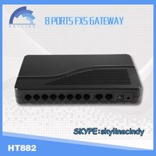 8 port FXS gateway-skyline-HT822/unlocked pap2t