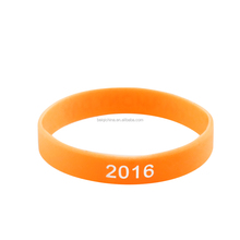 New design 2016 silicone bracelet rubber bands