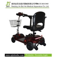 270W Folding disabled 4 wheel stand up electric scooter