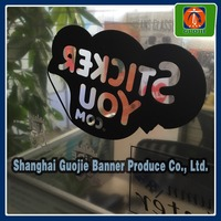 High quality Electrostatic stickers,adhesive window decal stickers
