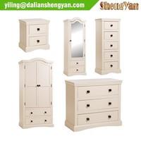 Wholesale Simple Modern Wooden Flat Pack Bedroom Furniture