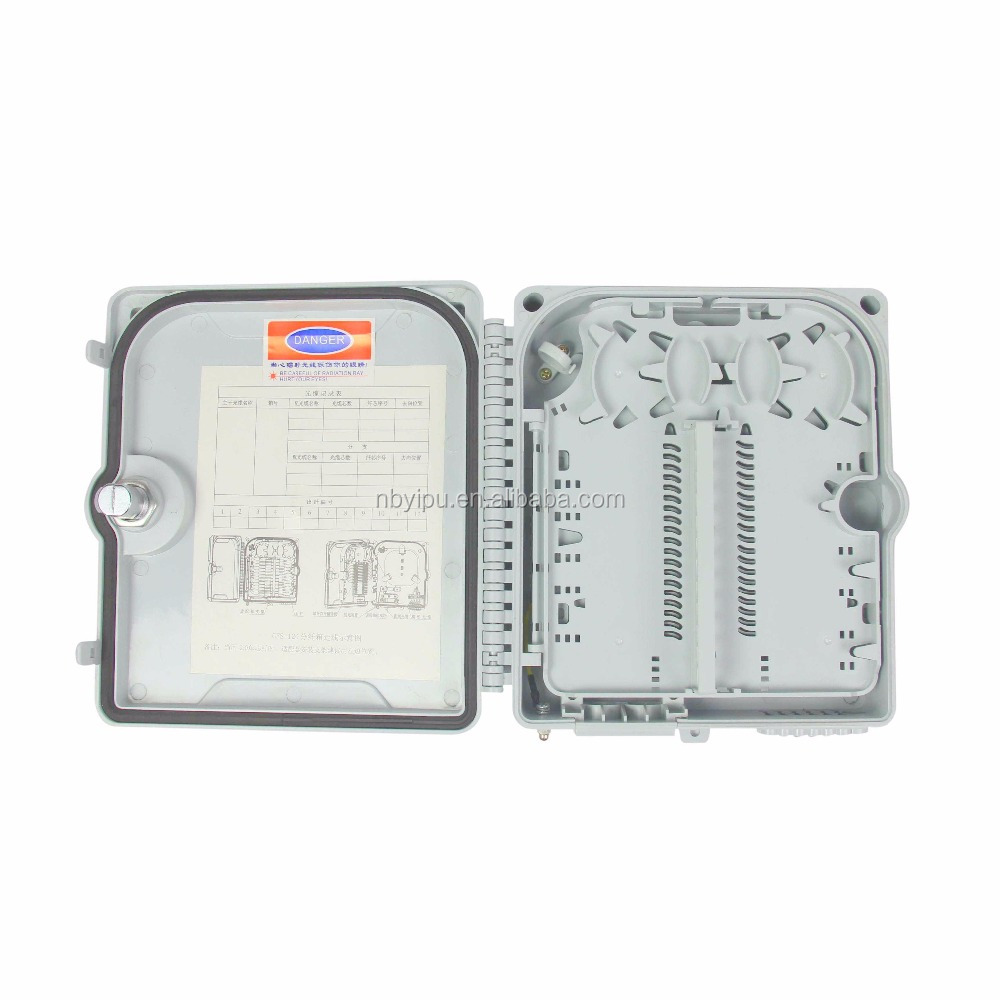 ftth outdoor/indoor fiber optic distribution box