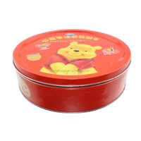 round metal tin box for cookies biscuits packaging