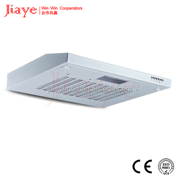 Classical Type Reasonable Price Stainless Steel/White Painted Surface Slim Vented Hood With No Chimney JY-HS6007