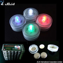 LED candle light cr2032 battery operated led tea lights multiple color