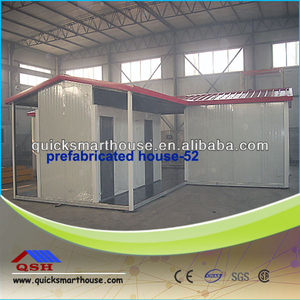 high quality prefabricated light steel structure container hosue for accommodation
