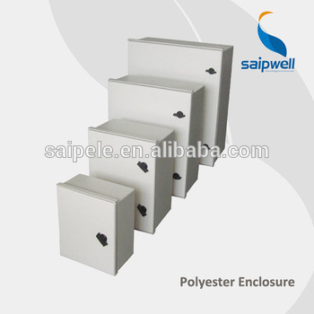 Weatherproof IP65 Fiberglass SMC Electric Cabinet Distribution Box