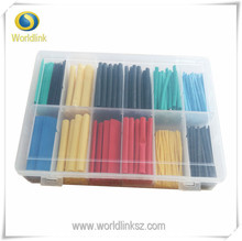 280pcs Assortment Ratio 2:1 Heat Shrink Tubing Tube Sleeving Wrap Kit with Box Colorful Lowest Price