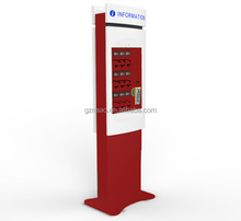 Free standing Public mobile phone charging station, payment charging kiosk