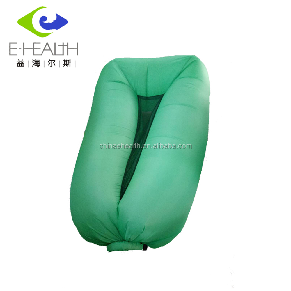 TPU caoting Fast filling Waterproof Nylon lazy bag lounge chair Inflatable Air Sofa