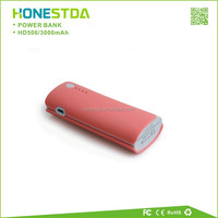 External Battery Backup 3000mAh universal portable power bank