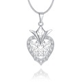 Jewelry Necklace 2017 Romantic Lovely Heart Shape Cubic Zirconia Pendant Necklace Gift Jewelry