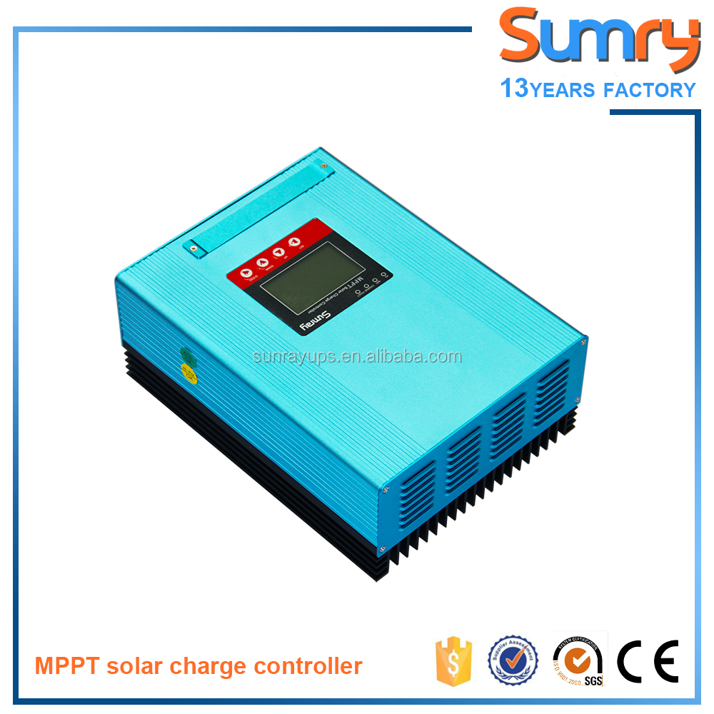 High efficiency solar charge controller 24v for solar panels