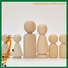 wooden children diy unpainted popular items peg dolls
