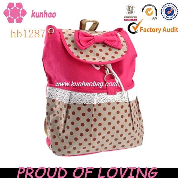 lovely girl picture school bags