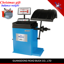 2018Hot Hot RoadBuck quality garage equipment LED wheel balancer car wheel balancing machine price