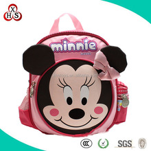 Factory Direct-China-Sale Of Plush Minnie School Bag, Cute Mouse Plush School Bag