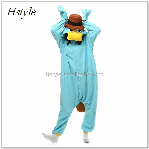 Kids And Adult Animal Onesie Cartoon Costume Pajamas DWY157