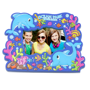 Wholesale cheap funny custom 3d pvc plastic picture photo frame