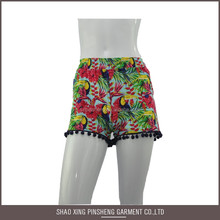 Fashion design Polyester / Cotton tight swimwear shorts