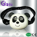 Panda headlamp for kids