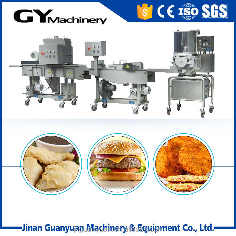 commercial automatic chicken burger patty making