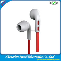 High quality new style mobile phone earphone portable plastic headset 3.5mm jack