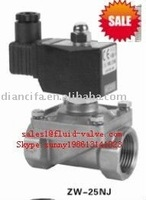 2/2 way water ZW-25NJ air 1 inch water solenoid valve