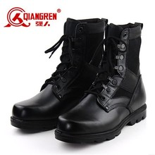 Tactical black military shoes army winter boots