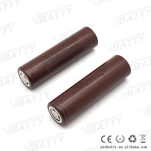 LG HG2 18650 battery 3.6V 3000mah rechargeable battery for toy car