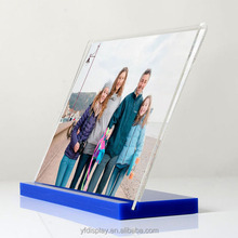 4x6 5x7 6x8 8x10 photo frame background 2016 new style acrylic photofunia/photo frame