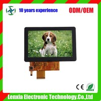 5inch Touch LCD LCM TFT Display Touch, 5.0inch colour touch screen lcd module