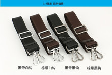 good quality 3.8cm 155cm long adjustable high desity nylon bag strap golf bag strap
