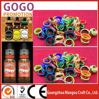 Eco-friendly silicone rubber band non-slip vape band for new vape mod, Most popular E Cig Ring, E Cig Ring Vape Band