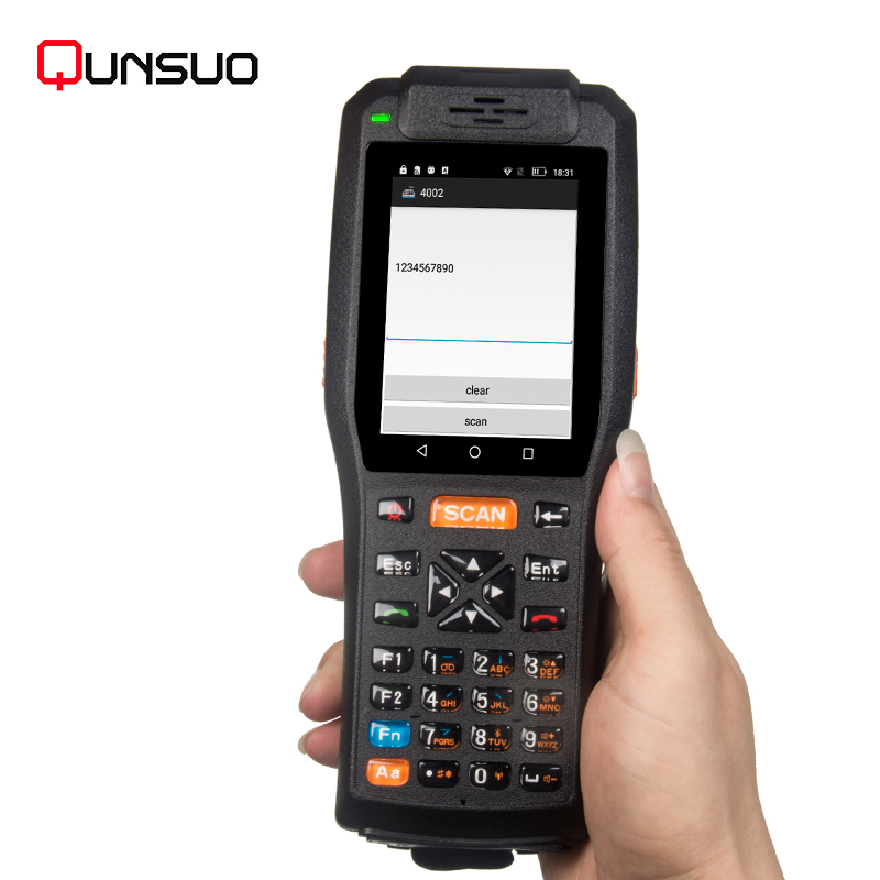 High speed 4G Handheld PDA With Mobile Printer ,Handheld Logistic PDA