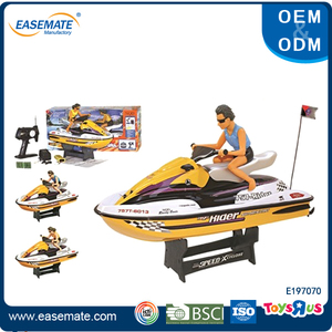 PVC suction boat body rc speed boat racing motorboat