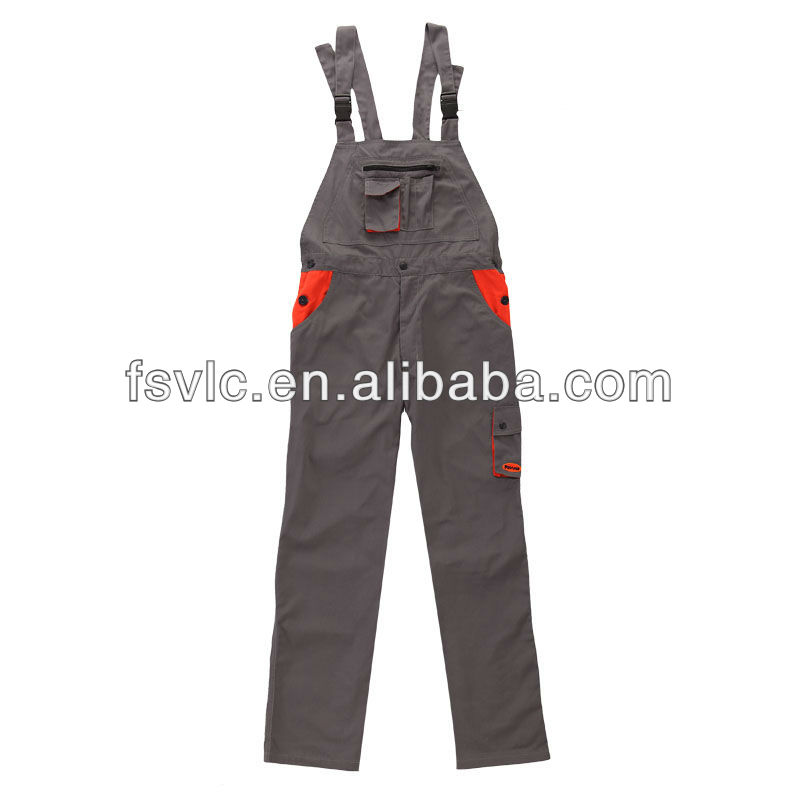 FR cotton fire retardant bib trousers