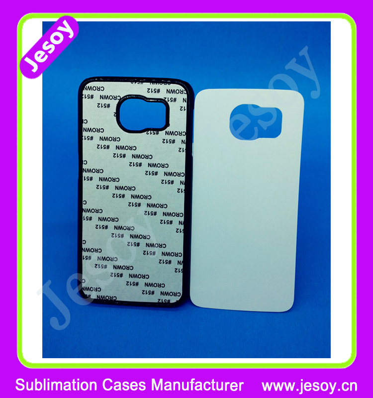 JESOY For Samsung Galaxy s6 TPU Rubber Case Personalized 2D Sublimation Printing Custom Phone Cover