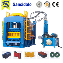 2017 hot sell CE approved QT10-15 color concrete paver block making machine price With Discount