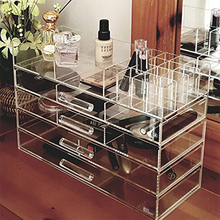 Wholesale Large Clear Acrylic Jewelry/Accessory & Cosmetic Storage Display Boxes
