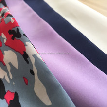 cheaper price china polyester peach skin fabric soft feeling print fabric