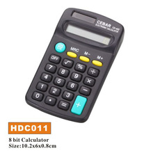 8 Digit solar pocket chinese calculator