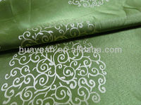 Circle design and jacquard tailor cutting fabric