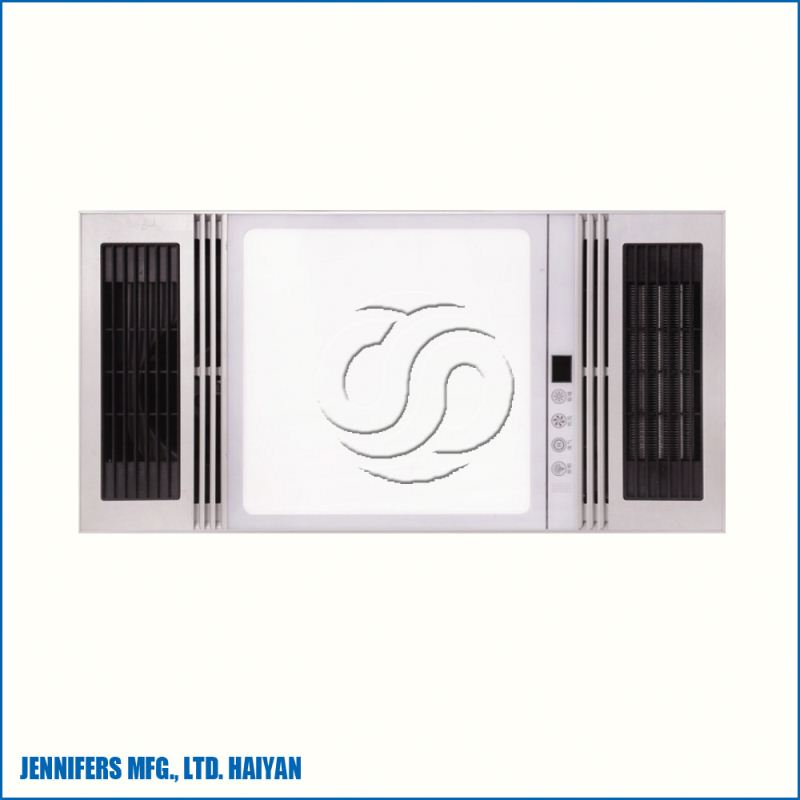 CCC, CE, SAA 4-in-1 PTC and IR lamp heating ceiling mounted bathroom ceiling heaters