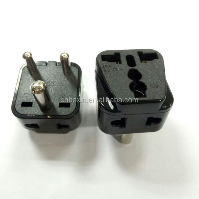 2 socket multi function India travel adapters