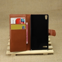 Alibaba china useful pu leather flip case cover for huawei p6