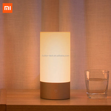 Original Xiaomi Bedside Lamp 2 Wifi+Bluetooth Dual Remote Contro Smart LED Table Cylinder Lamp Touch Dimmable Color Changing RGB