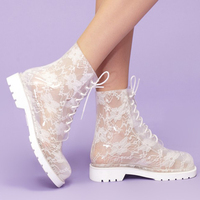 China Manufacturer of fashion girls/ladies sex high heel shoes rain boots