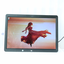 mobile mp4 movies hd 15.4 inch human body induction digital photo frame
