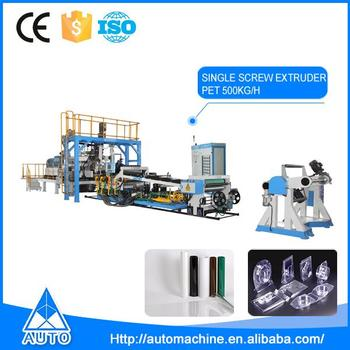Wholesale single layer extrusion line machine pet sheet extruder